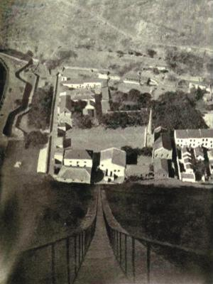 Lower Jamestown, seen from the top of Jacob's Ladder about 100 years ago (NC)  (Click to see the full-sized image, opens in a new window or tab)